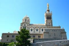 Notre-Dame de la Garde, Marseille Royalty Free Stock Photos