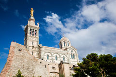 Notre Dame de la Garde, Marseille, France. Stock Photos