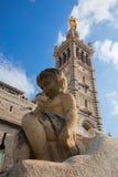 Notre Dame de la Garde, Marseille, France. Stock Images