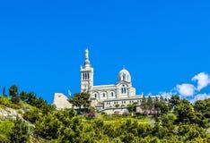 Notre Dame de la Garde in Marseille. France Stock Photo