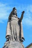 Notre Dame de la Garde statue Stock Images