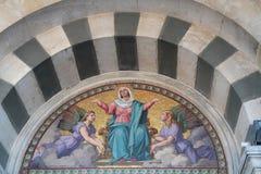 Notre-Dame de la Garde tympani Royalty Free Stock Photos