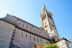 Notre-Dame-De-La Garde-Wächter der Stadt Lizenzfreie Stockfotografie