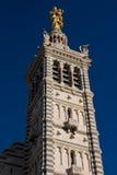 Notre dame de la guarde. In Marseille Royalty Free Stock Photo