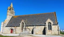 Notre-Dame de la Joie - Finistere lizenzfreies stockbild