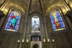 Notre Dame de la medkänsla kyrka, Paris, Frankrike Royaltyfria Foton