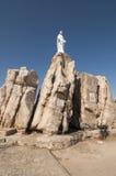Notre Dame de la Serra Calvi Royaltyfri Fotografi