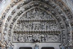 Notre-Dame-de-La-Treille - Lille - Francia Fotografia Stock Libera da Diritti