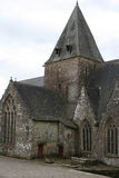 The Notre-Dame-de-la-Tronchaye church in Rochefort-en-Terre, France Royalty Free Stock Photos