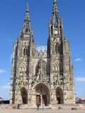 Notre Dame DE lEpine Cathedral Frankrijk Stock Foto's