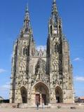 Notre Dame de lEpine Domkyrka Frankrike Arkivfoton
