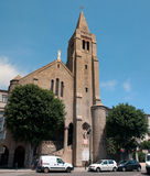 Notre Dame de Lourdes in Bastia Stock Photo
