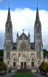 Notre Dame de Montligeon Basilica in Rural France Royalty Free Stock Photography