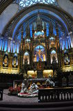 Notre-Dame de Montréal. This is the inside of Notre Dame in Montreal, Canada Royalty Free Stock Image