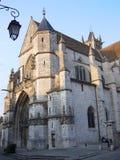 Notre Dame DE Moret-sur-Loing (Frankrijk) Royalty-vrije Stock Foto's