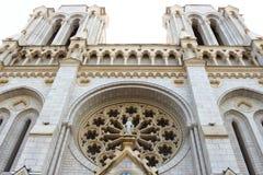Notre Dame de Nice,法国大教堂  免版税库存照片
