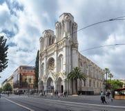 Notre Dame de Niza Fotografía de archivo