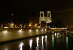 Notre Dame de París Fotografía de archivo