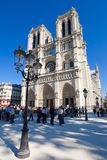 Notre Dame de Parigi Immagini Stock
