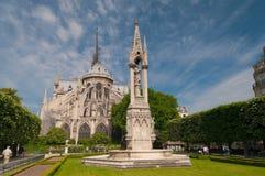 Notre-Dame de Parigi Fotografie Stock
