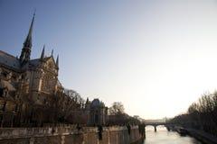 Notre-Dame de Parigi Fotografia Stock