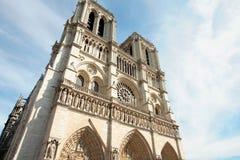 Notre dame DE Parijs Stock Afbeeldingen