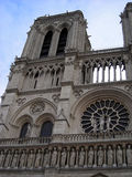 Notre dame DE Parijs, Frankrijk Royalty-vrije Stock Foto