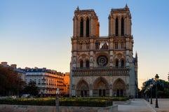 Notre-dame DE Parijs, Frankrijk stock afbeeldingen