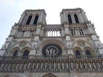 Notre-dame DE Parijs kathedraal stock foto