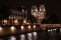 Notre-Dame de Paris Fotografie Stock Libere da Diritti