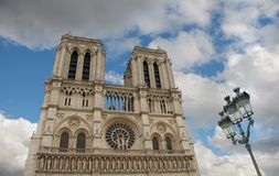 Notre Dame de Paris. Stock Photo