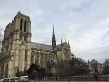 Notre Dame de Paris Imagem de Stock Royalty Free