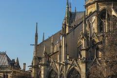 Notre Dame de Paris foto de stock