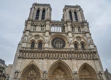 Notre-Dame de Paris imagen de archivo