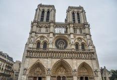 Notre-Dame de Paris photos libres de droits