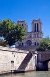 Notre Dame de Paris royalty-vrije stock afbeeldingen