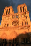 Notre Dame de Paris Royalty Free Stock Photo
