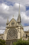 Notre Dame de Paris 2 Royalty Free Stock Photo