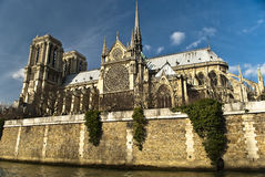 Notre Dame de Paris Lizenzfreie Stockfotos
