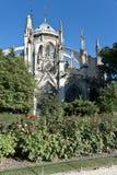 Notre-Dame de Paris Stockfotos