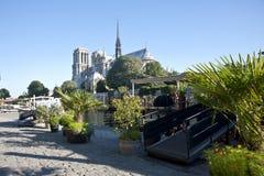 Notre Dame de Paris Royaltyfria Foton