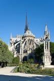 Notre Dame de Paris Arkivfoto