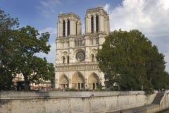 Notre Dame de Paris Arkivfoton