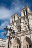 Notre Dame de Paris Stock Afbeeldingen