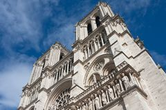 Notre Dame de Paris Royalty Free Stock Images