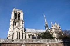 Notre Dame de Paris Royalty-vrije Stock Foto's
