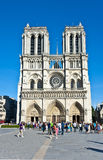 Notre-Dame  de Paris. Royalty Free Stock Photos