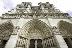 Notre-Dame de Paris Stock Afbeeldingen