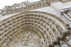 Notre-Dame de Paris Royalty-vrije Stock Foto