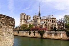 Notre-Dame de Paris Fotos de archivo libres de regalías